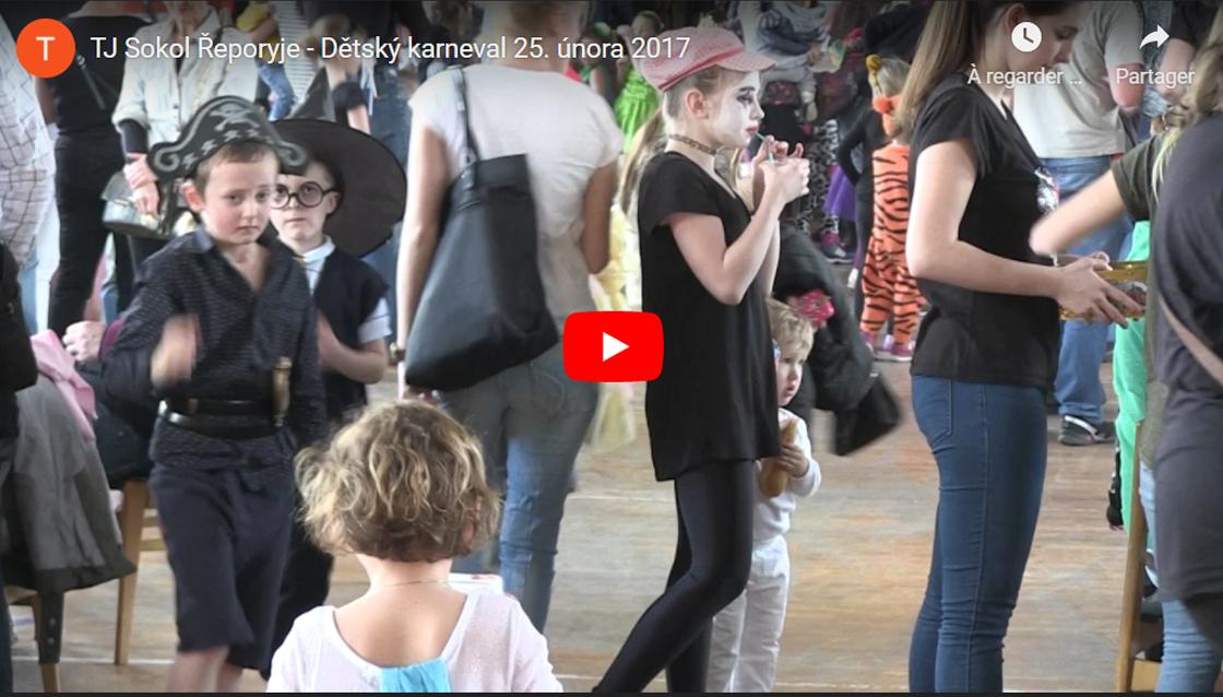 Dětský karneval a taneční zábava