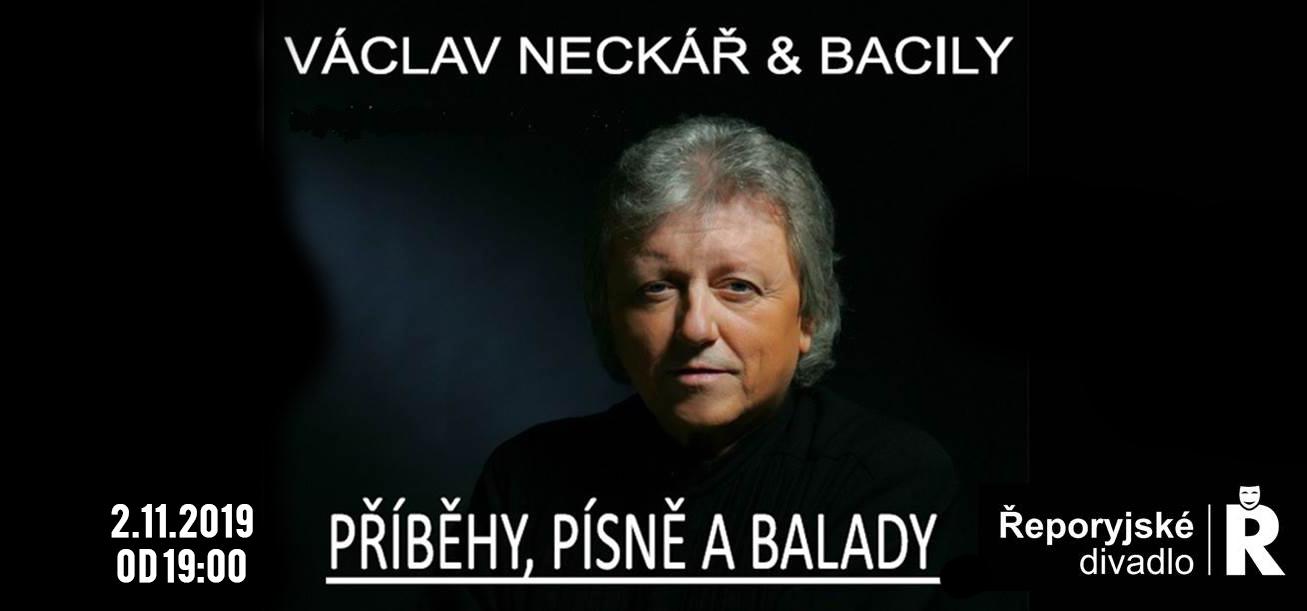 Václav Neckář a Bacily v Řeporyjích 2.11.2019