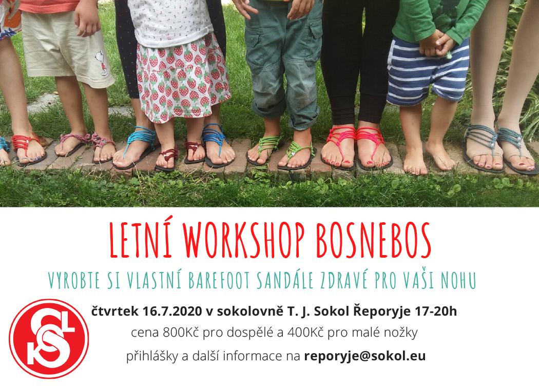 16. červenec 2020 – Letní workshop Bosnebos